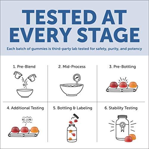 SmartyPants Vegetarian Organic Kids Daily Gummy Vitamins: Multivitamin, Gluten Free, Non-GMO, Omega-3, Probiotic, Vitamin D3, Methylcobalamin B12, Zinc; 120 Count (30 Day Supply) by SmartyPants Vitamins (Image #11)