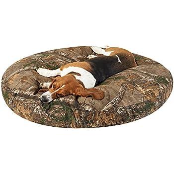 Amazon.com : PawTex Round Realtree Xtra Camo Dog Bed, 50