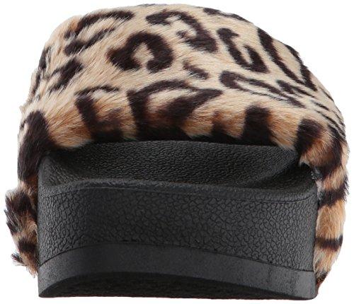 Steve Softey Leopard Women's Madden Slide Sandal P 6Uq1WT