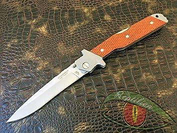 Amazon.com: Cuchillos de caza rusos plegables para caza ...