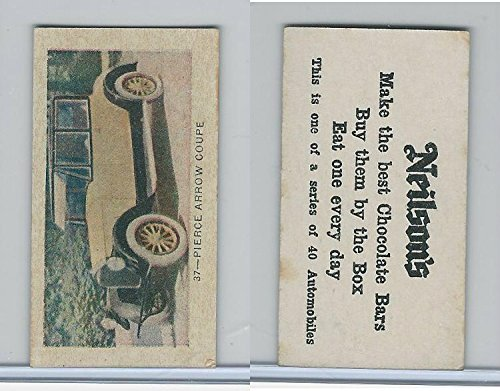 V60-2 Neilson's Chocolate, Automobiles, 1920, 37 Pierce -