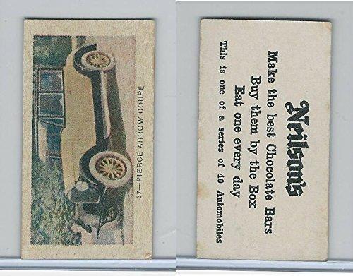 V60-2 Neilson's Chocolate, Automobiles, 1920, 37 Pierce Arrow ()