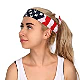 HDE American Flag Bandana Headband USA Stars Stripes - Best Reviews Guide