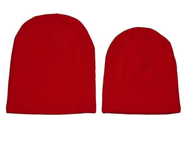 09e1e8c137d31 ❤ Gorro tipo hipster rojo en talla de recién nacido