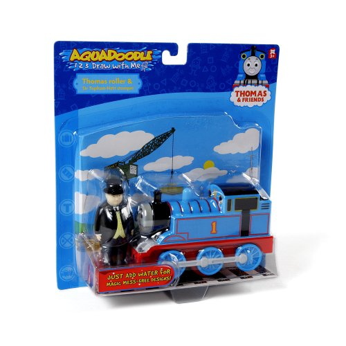 Sir Topham Hat Figure - Aquadoodle Thomas the Tank Engine Roller and Sir Topham Hatt Stamper