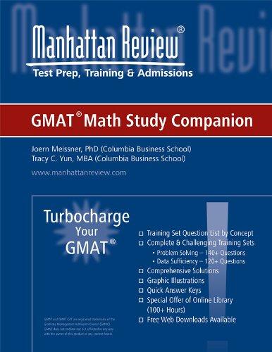 Manhattan Elite Prep Turbocharge Your GMAT Series: Math Study Companion