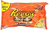 REESE'S Peanut Butter Cups, Chocolate Candy, Miniatures, 12 Ounce (Pack of 6)