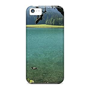 JBcases Vox2172KsAn Case Cover Skin For Iphone 5c (clear Mountain Lake)