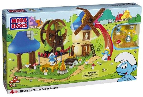Smurf Mushroom (Megabloks Smurf Buildable Carnival)