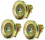 Three (3) Pack Erie Tools Lawn Mower Spindle Assembly for John Deere AM124511 AM118532 AM122444 STX38 STX46 Series 38'' Deck Oregon 82-354