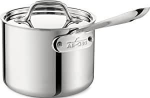 All-Clad-4201.5-Stainless-Steel-Tri-Ply-Bonded-Dishwasher-Safe-Sauce-Pan-with-Lid-Cookware