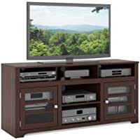 Sonax E-9462-BW West Lake 60-Inch Television Bench, Dark Espresso