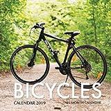 Bicycles Calendar 2019: 16 Month Calendar