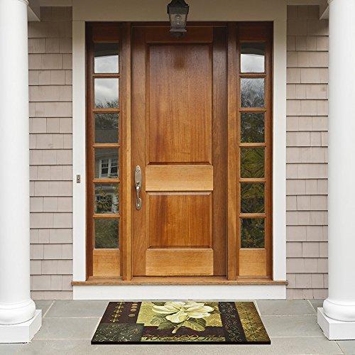 Achim Home Furnishings RM1830MG06 Magnolia Welcome Entrance Mat, 18