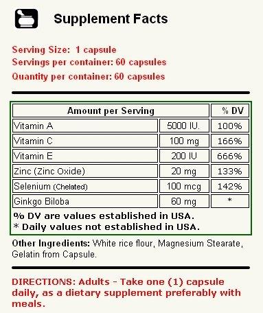 Amazon.com: Alfa Vitamins Millenium Antioxidant 60 caps Immune Support Anti Aging: Health & Personal Care