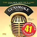Gunsmoke: Season 7 Radio/TV Program by  PDQ AUDIOWORKS Narrated by William Conrad