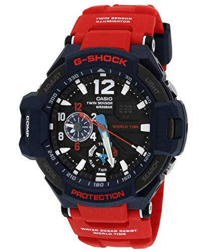 Casio G-SHOCK GA-1100-2ADR SKY COCKPIT Aviation Watch for sale  Delivered anywhere in USA