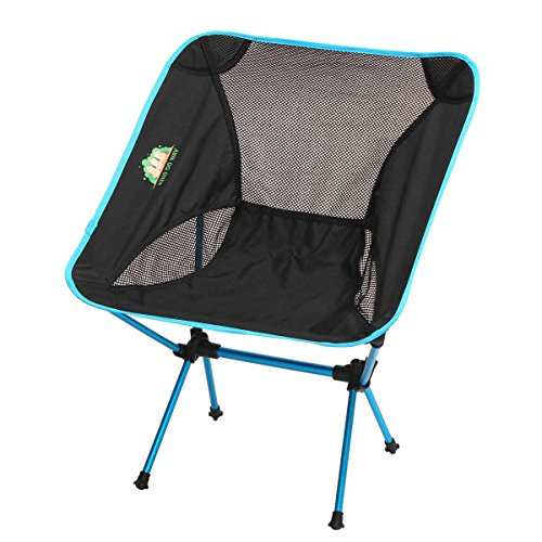 KING DO WAY Portable Ultralight Chair Compact Folding Chairs with Carry Bag for Camping /Fishing/Hiking/Picnic/Beach/Outdoor Sports