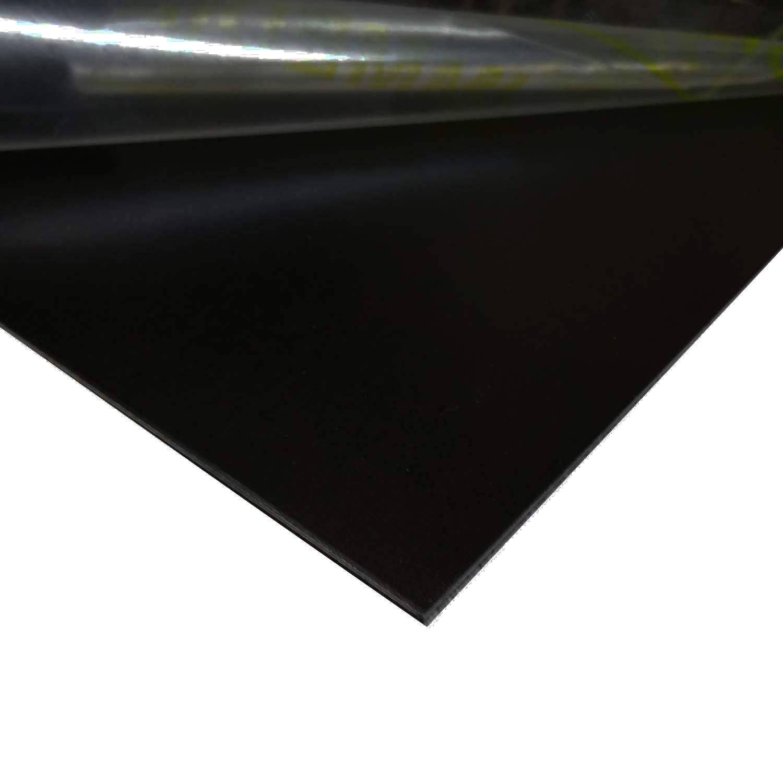 Online Metal Supply Black Painted Aluminum Sheet, 0.040'' x 12'' x 24'' by Online Metal Supply