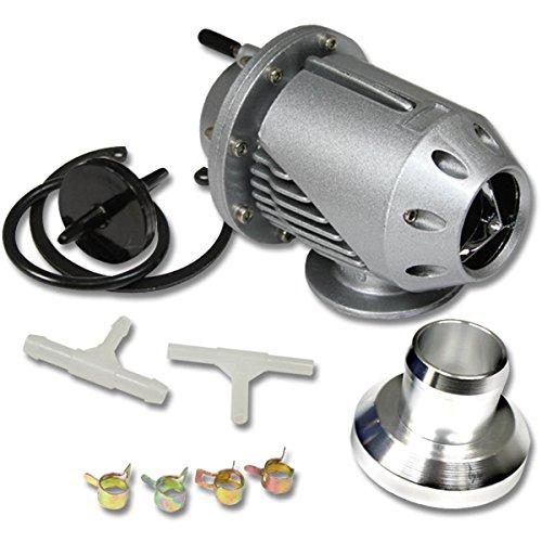 Universal Aluminum SQV SSQV Turbo Blow Off Valve BOV (Silver)