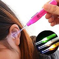 Lebeaut Limpiador de Oídos Hot LED Light Earpick