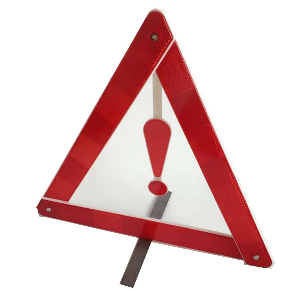 Warning Triangle - Red Travel Fold Up Exclamation Safety Triangle Q4 Travel