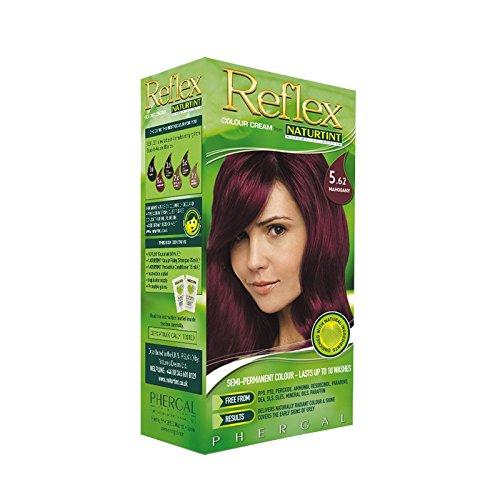 Naturtint Reflex Non Permanent Colour Rinse 5.62 Mahogany (Pack of 6) - Naturtint反射非永久的な色は5.62マホガニーをすすぎます (x6) [並行輸入品] B01N43QWTS