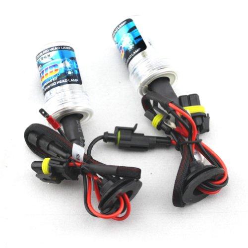 Car HID Xenon Lights Bulbs Lamps H1 6000K diamond white(12V,35W) single beam- 1 Pair (H1 Lightbulbs compare prices)