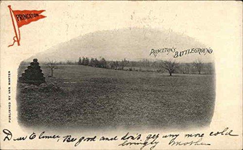 Princeton's Battleground Princeton, New Jersey Original Vintage Postcard ()