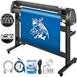 (US) VEVOR Vinyl Cutter 53 inch Plotter Machine 1340mm Paper Feed Vinyl Cutter Plotter Signmaster Software Sign Making Machinewith Stand (53Inch Style 2)