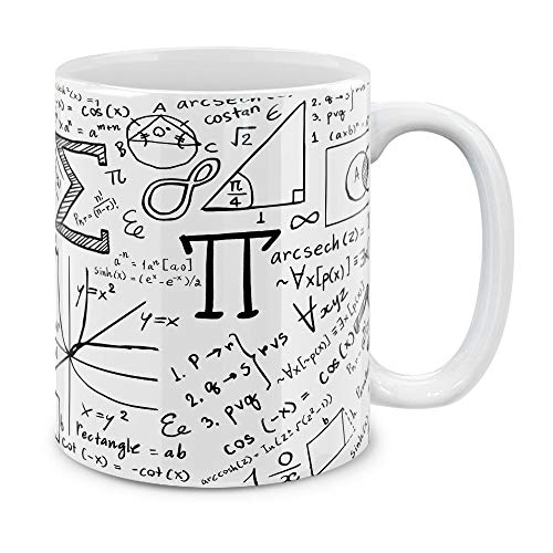 MUGBREW Math Equations Whiteboard Ceramic Coffee Gift Mug Tea Cup, 11 - Coffee Gift Ceramic Mug