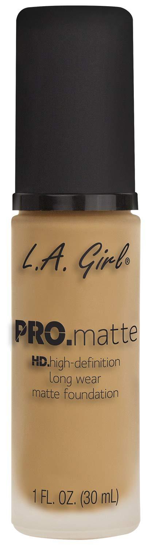 L.A. Girl Pro Matte Foundation, Natural, 1 Fluid Ounce