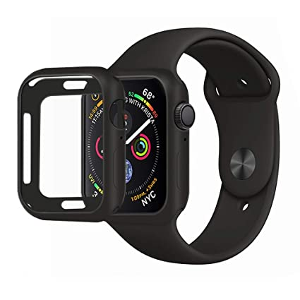 premium selection b9c0b 690b1 MENEEA for Apple Watch Series 4 Case Protector, Ultra-Thin Anti ...