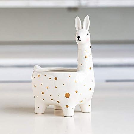 Cute Rabbit Ceramic Plant Flower Pot