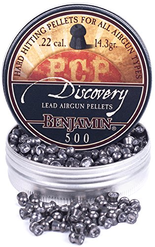 Benjamin 1500 Hollow Point Pellets (Pack of 3), 0.22-Calibre