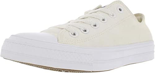 Converse Womens CT II ox Low Top Lace Up Fashion Sneakers, White, Size 7.0