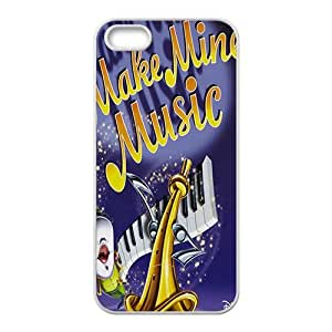SANLSI Make mine music Case Cover For iPhone 5S Case