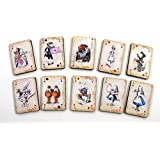 Alice in Wonderland Wooden Playing Cards