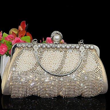 Type Les de Cuir Gold soirée sac Or argent femmes d'autres de E1wnq0ErA