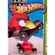 2012 Hot Wheels Hw Imagination Angry Birds - Red Bird