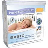 Protect-A-Bed Basic Twin Mattress Protector, Twin