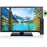 AXESS TVD1805-24 24-Inch 1080p LED HD TV | VGA/HDMI Inputs, Built-in DVD Player, Full Function Remote