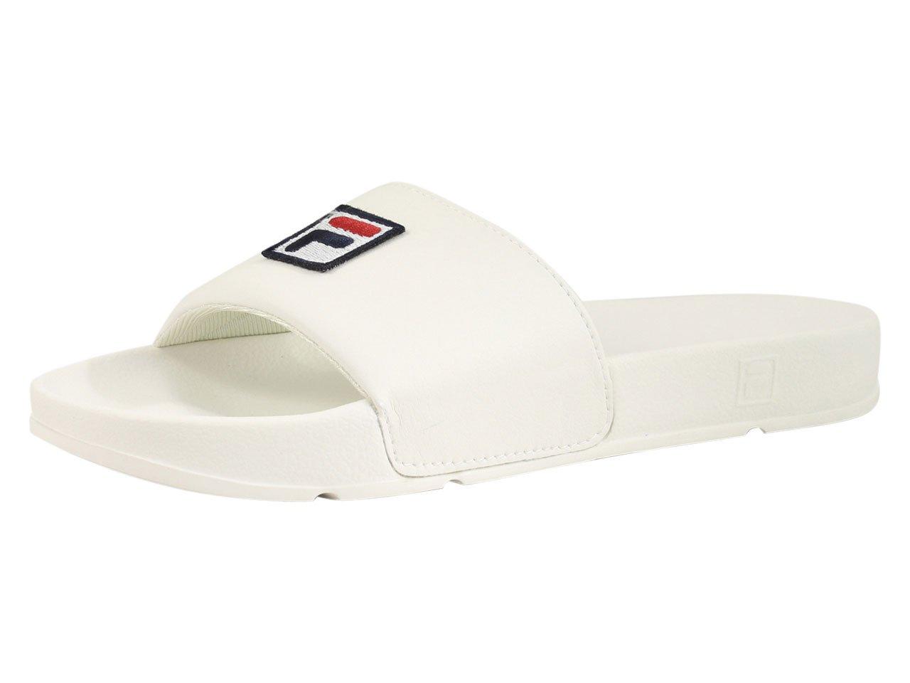 Fila Men's Drifter F-Box Sandals B07CP1YPMT 7 D(M) US|Gardenia, Fila Navy, Fila Red