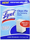 Lysol Clean-Flip Dry Sweeping Cloth, 32-Pack