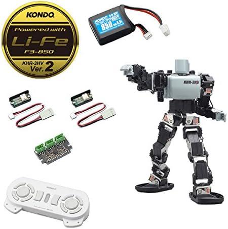 二足歩行ロボット組立キット KHR-3HV Ver.2 LFフルセット [KHR3LF-FUL]