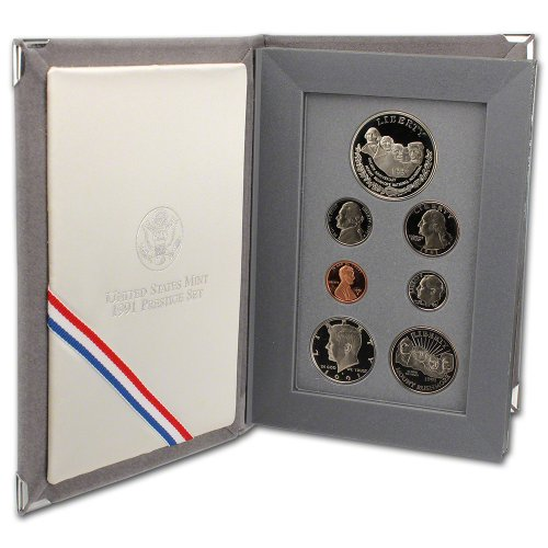1991 Us Mint Proof (1991 US Mint Prestige Proof Set Original Government Packaging)