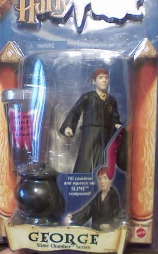 (Harry Potter Slime Chamber Series George Action Figure by Mattel)