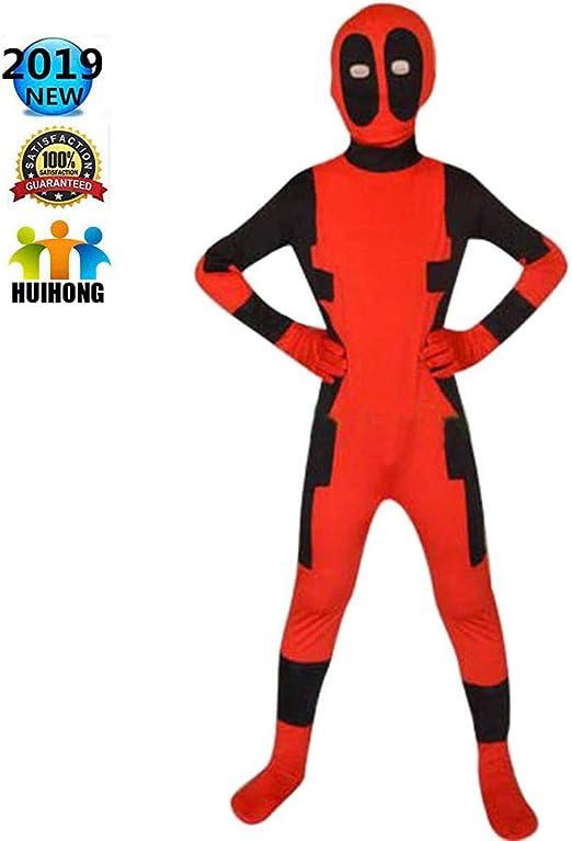 HUIHONG Disfraz De Disfraces De Deadpool X-Men Deadpool Disfraz De ...