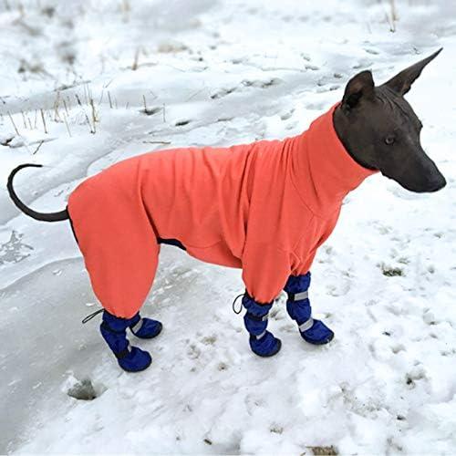 Pet Leso reg; Hund wasserdichte Stiefel Haustierschuhe f/ür mittlere bis gro/ße Hunde f/ür verschneite oder regnerische Wetter