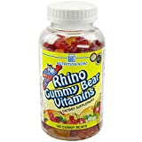 Cheap Rhino Gummy Bear Vitamins, 190-Count Bottle